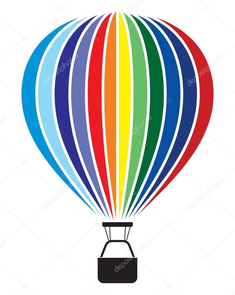 Воздушный шар с корзиной картинка 3