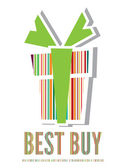 Best buy label — Stock Vector