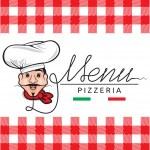 Italian restaurant menu — Stock Vector