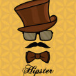 hipster — Vetorial Stock