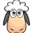 Cute Sheep — Stock Vector