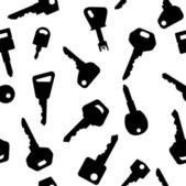 Key pattern — Stock Vector