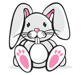 Sevimli tavşan — Stok Vektör