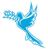 Dove of Peace — Stock Vector