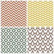 Retro pattern set — Stock Vector #36454717