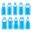 Plastic bottle set — Stock Vector #36915019
