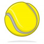 Tennis ball — Stock Vector #36921603
