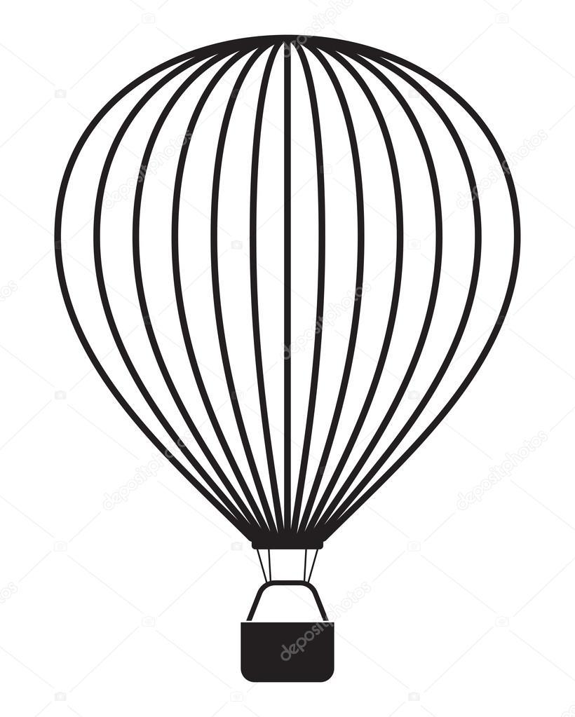 hei luftballon isoliert auf weiss stockvektor branchecarica 37130371. Black Bedroom Furniture Sets. Home Design Ideas