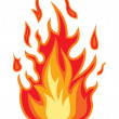 Fire flame — Stock Vector #37307521
