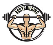 Bodybuilder — Stock Vector