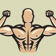 Bodybuilder — Vector de stock