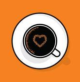 Poster de tempo de café — Vetorial Stock