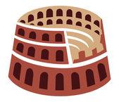 Rome colosseum — Stock Vector