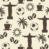 Sada symbolů fotbal — Stock vektor