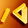 Lego impossible - Stockfoto