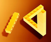 Lego impossible — Stock Photo