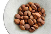 Apricot kernels — Stock Photo