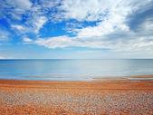 Beach in Hastings — Stock Photo