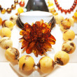 Stock Photo: Baltic Amber Stone