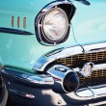 Vintage Car Front Detail — Stock Photo #28874183