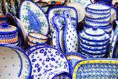 Close-up of Dishes Set — Foto de Stock