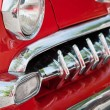 Stock Photo: Front Detail of Vintage Car