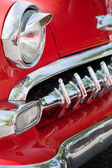 Front Detail of a Vintage Car — Stock Photo