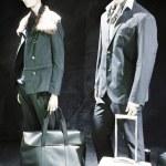Boutique with Fashion Dummies — Stock Photo