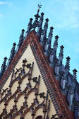 Detail of Town Hall in Wroclaw, Poland — Стоковое фото