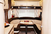Interior of Luxury Motorhome — Stock Photo
