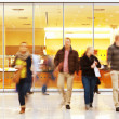 Stock Photo: Intentional Blurred Image of People in Shopping Center