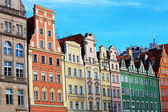 Townhouses in Wroclaw, Poland — Foto Stock