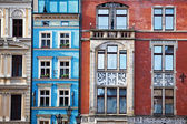 Row houses on Market square in Wroclaw, Poland — Stock Photo