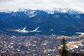 Zakopane City and Tatra Mountains — Stock Photo