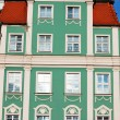 Facades of old houses in Wroclaw, Poland — Stock Photo