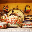 Handmade Set of Pottery — Stock Photo #35843255