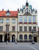 Torget och rådhuset i wroclaw, Polen — Stockfoto