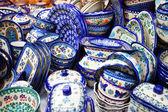 Handmade Set of Pottery — Stock Photo
