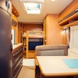 Dining Space in Modern Motorhome — Stock Photo #37065755