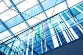 Futuristische glas kantoorgebouw — Stockfoto