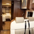 Living Quarters in Luxury Motorhome — Stock Photo #37071303