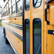 Side View of School Bus — Stock Photo