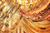 Various Amber Necklaces — Stock Photo