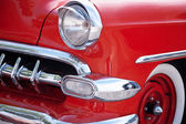 Front Detail of American Classic Car — Stock Photo