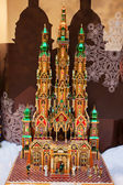 Pesebre de Navidad, Cracovia, Polonia — Foto de Stock