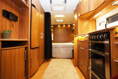 Interior of Luxury Motorhome — Foto Stock