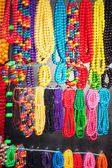 Colorful Necklaces Hanging — Stock Photo