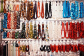Boutique with Necklaces — Stockfoto