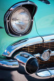 Vintage American Car Front Detail — Stock Photo