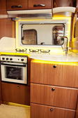 RV Kitchen — Stock Photo